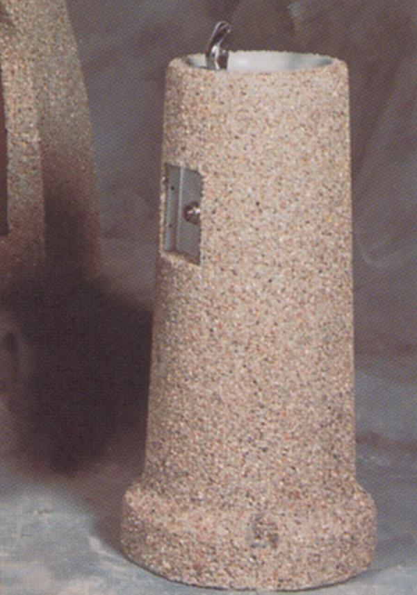 Concrete Drinking Fountain - 15Diax34H.
