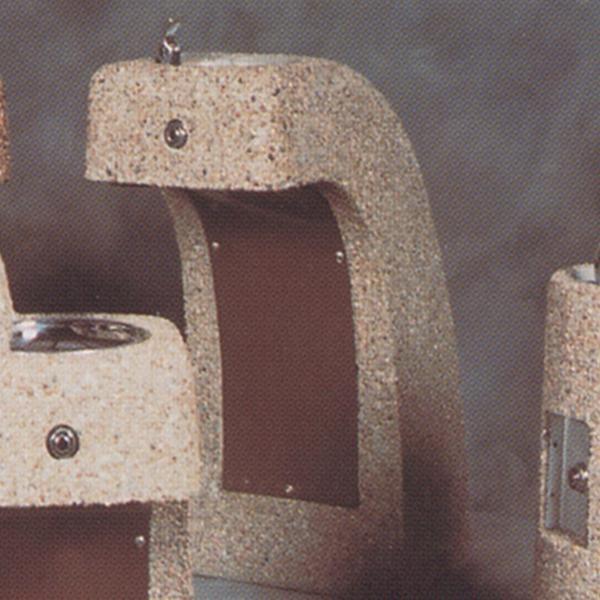 Concrete Drinking Fountain - ADA - Tamper-Resistant - Concrete Bowl