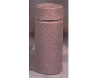 12Dia x 30H Round Concrete Bollard