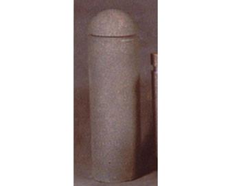 12 Dia x 54H Round Concrete Bollard