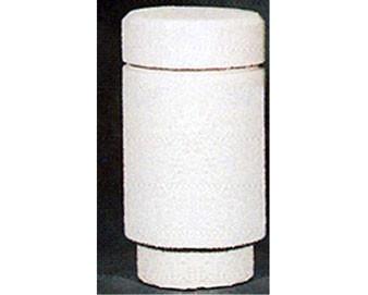 16Dia x 38H Round Concrete Bollard