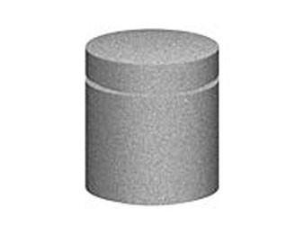 30H x 24D Round Concrete Bollard