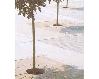 Concrete Tree Grate - 36L x 36W x 2-3/4T