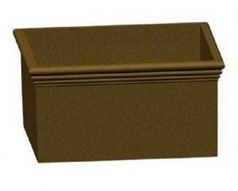 6-Ft. Square Concrete Planterx36H