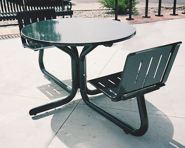 30 Round Metal Cafe Table