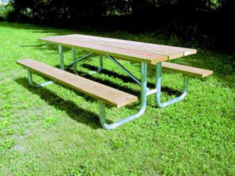 Rustic Pine Picnic Table