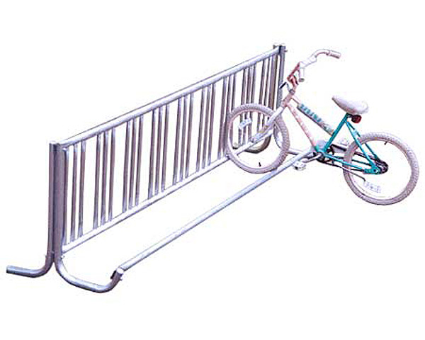 Single-Sided J-Frame Galvanized Bike Rack
