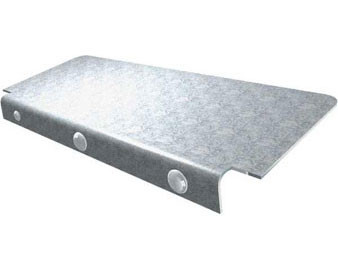 Galvanized Grill Shelf for 166-1301