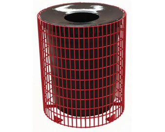 32-Gal. Wire Welded Receptacle