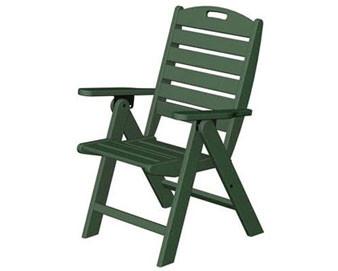 POLYWOOD Nautical Highback Chair