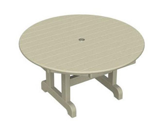 POLYWOOD Round Conversation Table - 36Dia