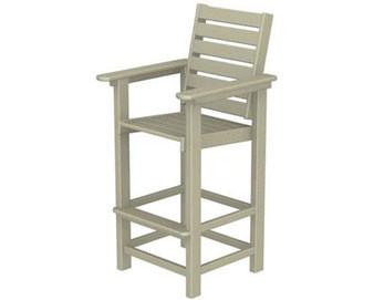 POLYWOOD Captain Bar Stool