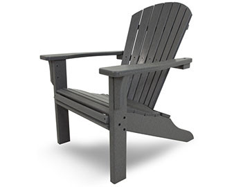 POLYWOOD Seashell Adirondack Chair