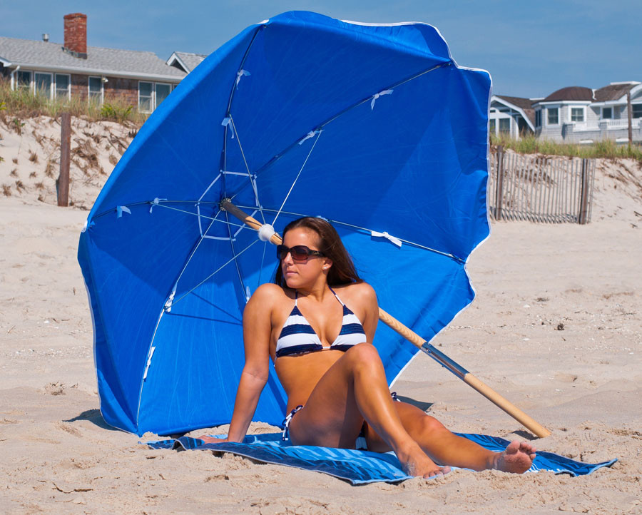 6.5' Diameter Shade Star Umbrella with 6-Panel Polyester Cover