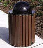 32-Gal. Oak Township Trash Receptacle