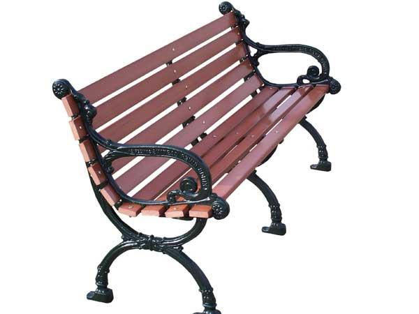 Recycled Plastic Victorian Park Bench