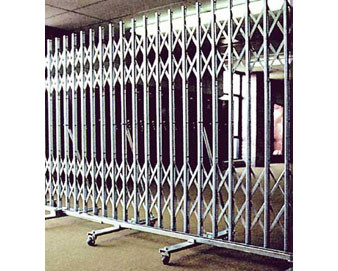 Hallowell® 3'6 to 6' Wide x 6' 6 1/2 H Expandable Gate