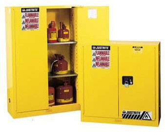 30-Gal. Manual Safety Cabinet for Flammables with Sure-Grip Ex Handle