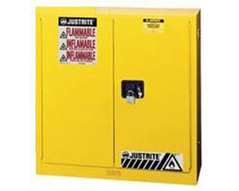 60-Gal Manual Safety Cabinet for Flammables with Sure-Grip® Ex Handle