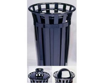 24-Gal. Oakley Series Trash Receptacle