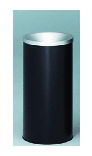 Sand Top Metal Ash Urn - Black