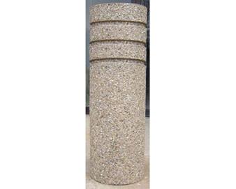 14 Diameter Round Concrete Bollard 4' High