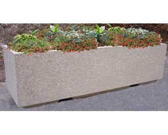 8' Rectangular Concrete Planter