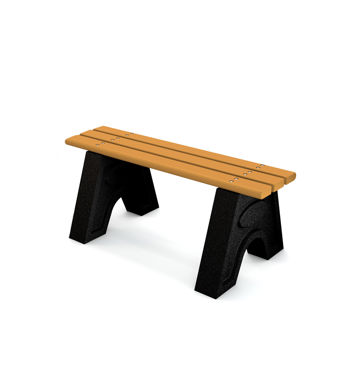 Recycled Plastic 'Sport' Bench - 4ft