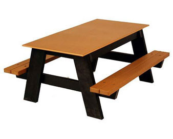 4-Ft. Kid's Recycled Plastic Picnic Table
