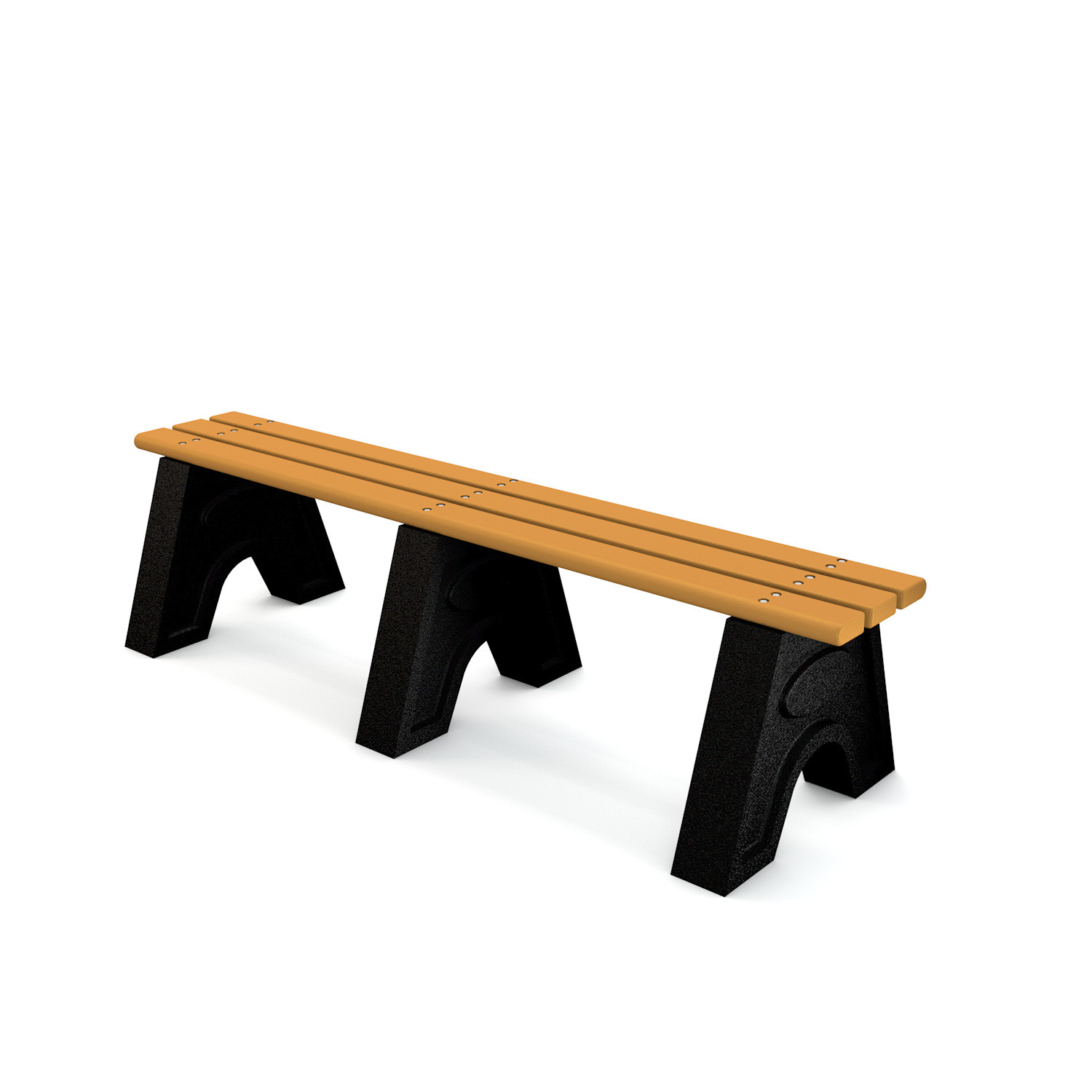 Recycled Plastic 'Sport' Bench - 6ft