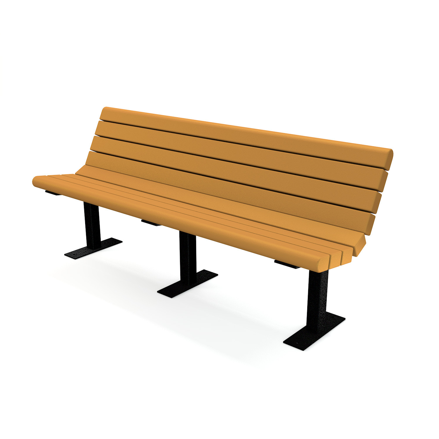 Jameson Recycled Plastic Bench