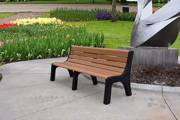 Newport Recycled Plastic Bench