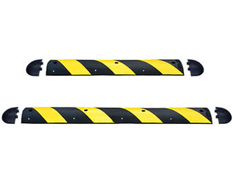 Easy Rider Striped Yellow Speed Bump