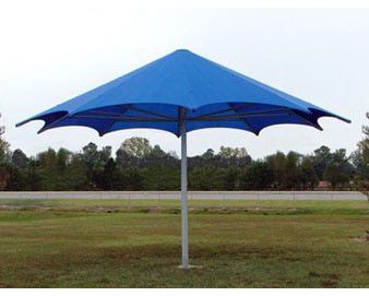 20' Palm Shade Umbrella (UV Shadecloth)