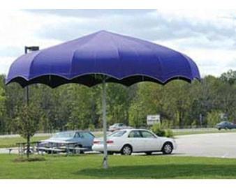 20' Shark Shade Umbrella (Outdura® Fabric)