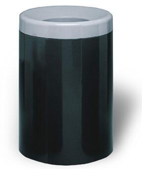 50-Gal. Ashton Series Open-Top Fiberglass Trash Receptacle - 24D x 36H
