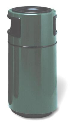 25-Gal. Cambridge Sand Top Fiberglass Ash/Trash Receptacle 2 side opening