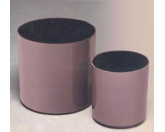 Rimless Cylinder Fiberglass Planter - Various Finishes & Colors Available