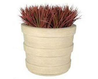 Southern Pine Round Planter - Various Finishes & Colors Available