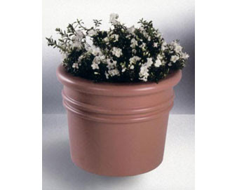 Sarasota Style Round Planter - Various Finishes & Colors 48Dx36H