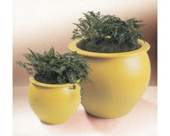 Bombay Collection Planter - Various Finishes & Colors Available 30Dx27H