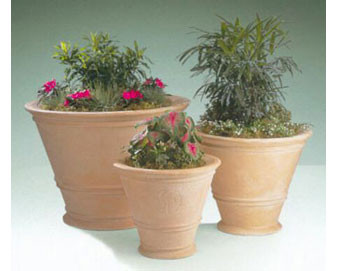 Havana Style Planters in two Sizes with Various Finishes & Colors Available