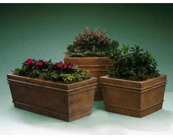 Pinecraft Fiberglass Planters with Various Sizes, Finishes & Colors Available