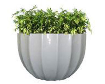 Miami Series Round Planter with Various Sizes, Types, Finishes & Colors