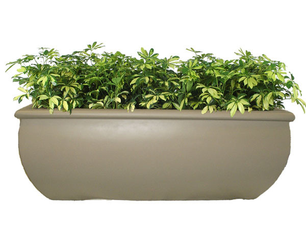 Orlando Rectangle Planter with Various Sizes, Finishes & Colors Available