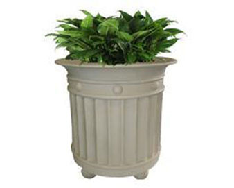 Virginia Series Planter with Various Sizes, Finishes & Colors Available