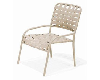 Lido Crossweave Collection Strap Dining Chair