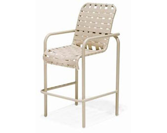 Lido Crossweave Collection Strap Bar Chair