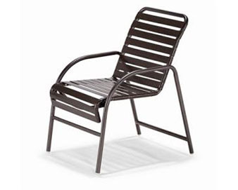 Milan Collection Strap Lounge Chair