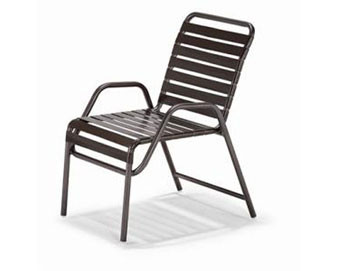 Milan Collection Strap Dining Chair